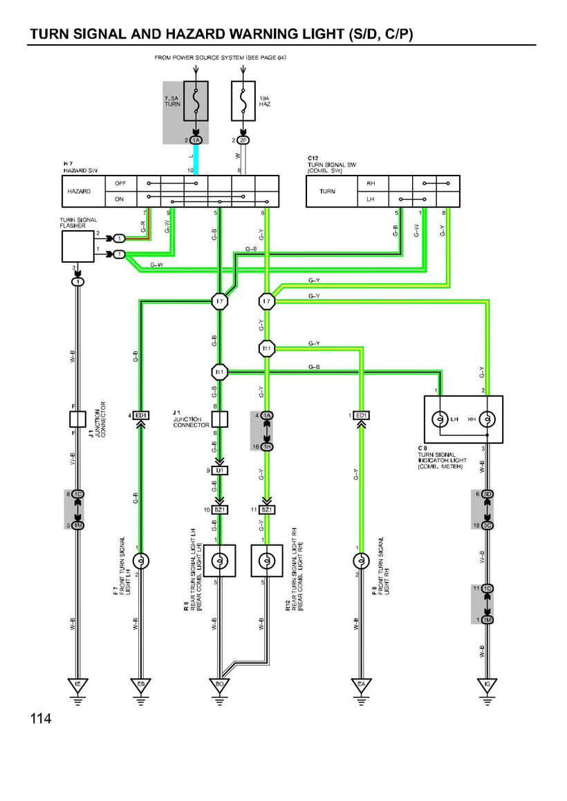 Toyota Camry Wiring Diagrams Car Electrical Wiring Diagram