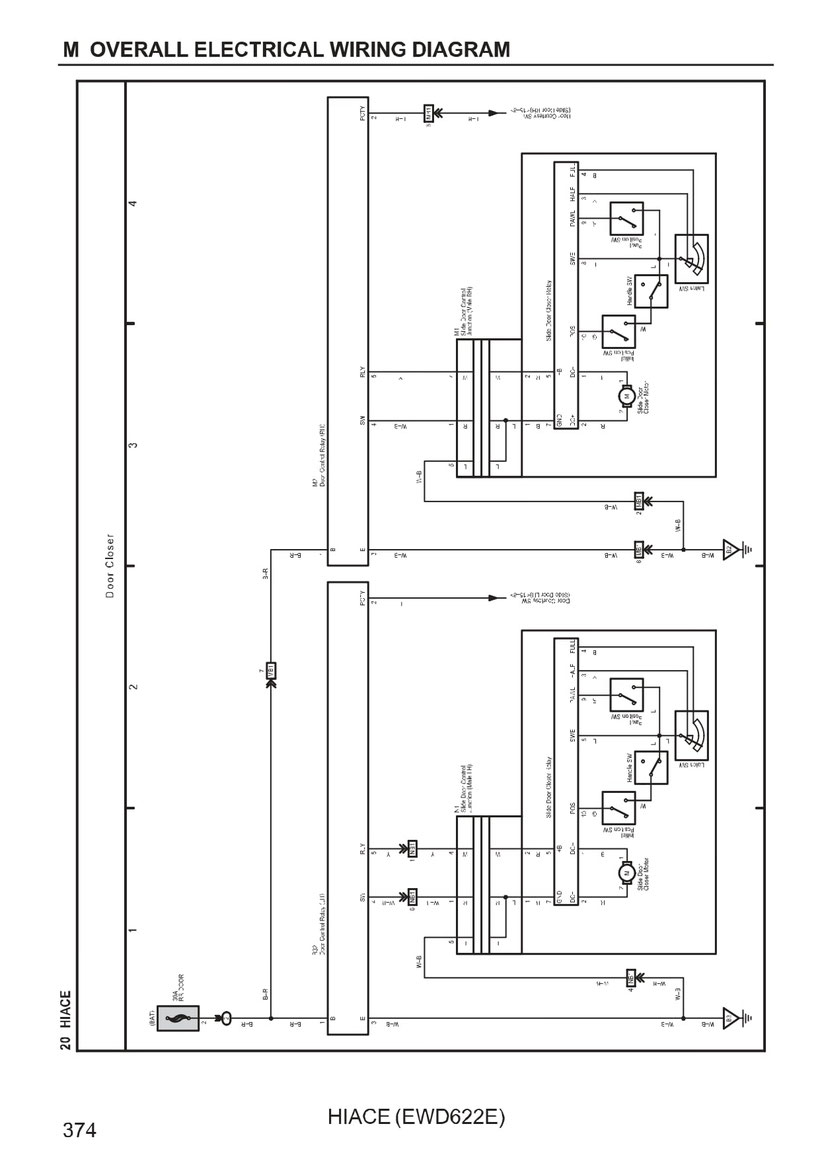 Toyota Hiace Wiring Diagrams