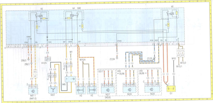 [DIAGRAM_1JK]  MERCEDES W210 Wiring Diagrams - Car Electrical Wiring Diagram | K40 Wiring Diagram Free Picture Schematic |  | Car Electrical Wiring Diagram - Jimdo