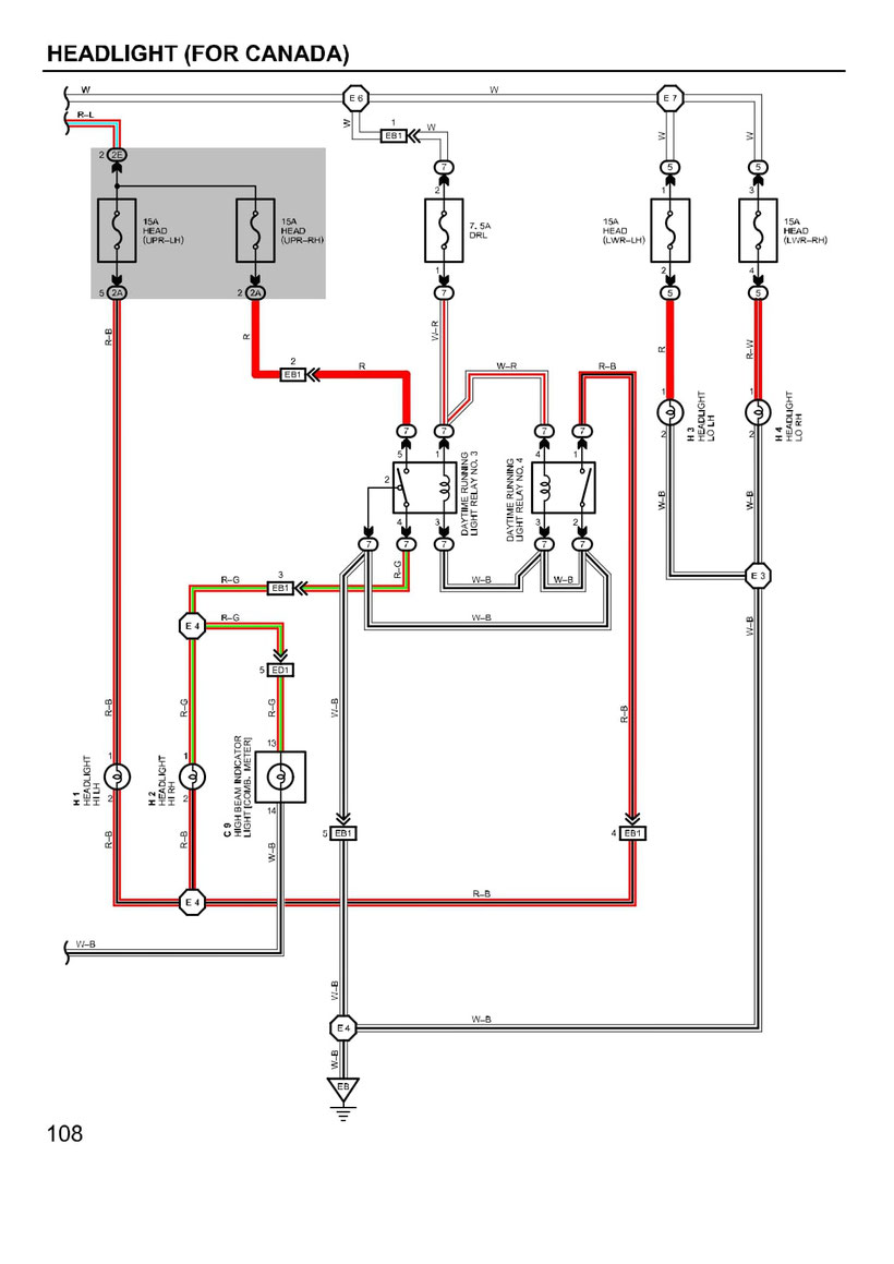 Electrical Wiring Diagram 2009 Toyotum Venza