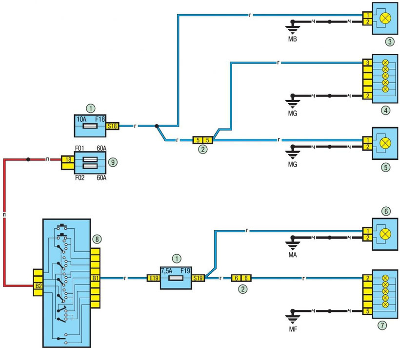 Renault Logan Wiring Diagrams