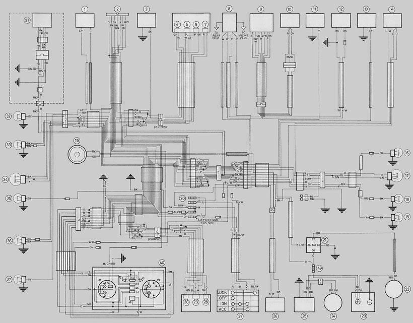 HARLEY DAVIDSON FL Wiring Diagrams - Car Electrical Wiring ... on