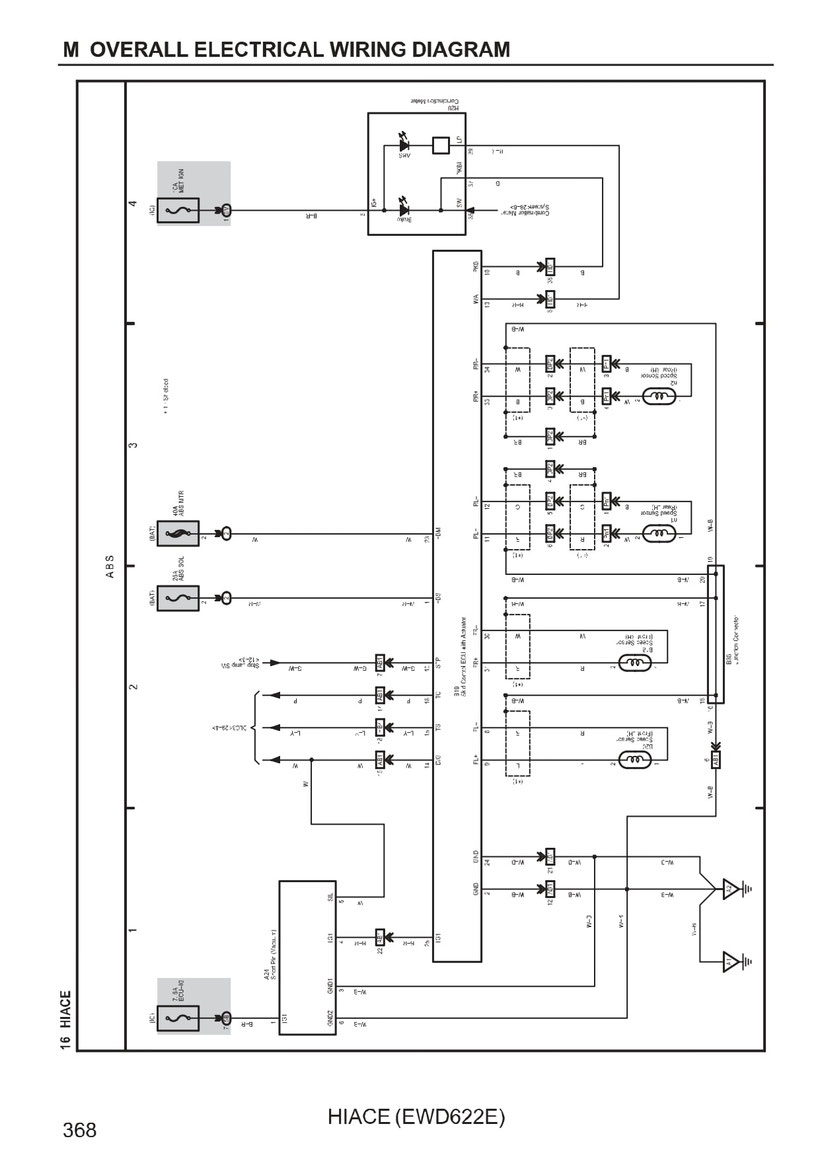 TOYOTA HIACE Wiring Diagrams - Car Electrical Wiring Diagram on hazard relay diagram, hazard switch diagram, hazard safety,