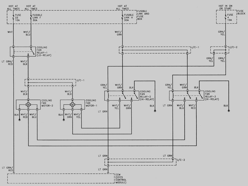 1998 Nissan Altima Cooling Fan Wiring Diagram - Cars ...