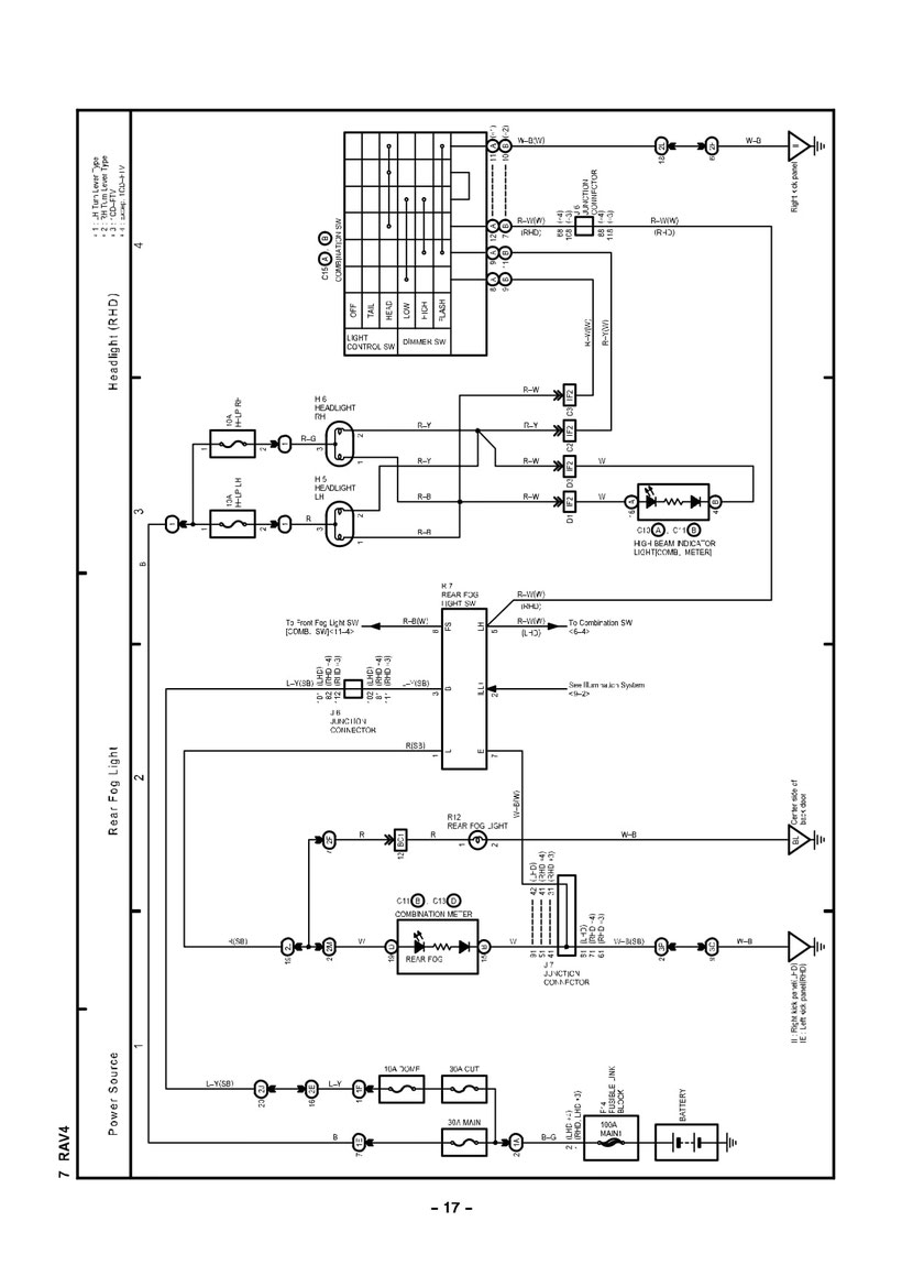 Fog Light Wiring Diagram Toyota Pictures