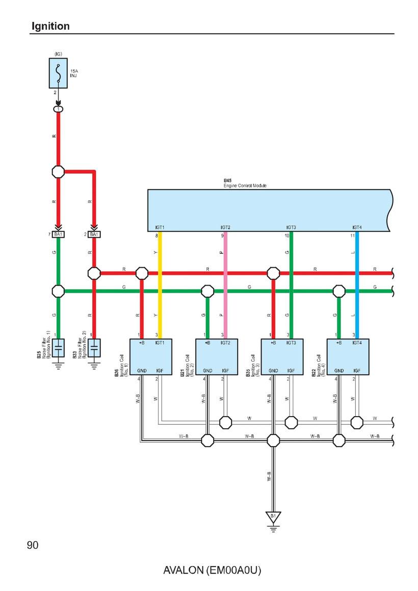 Toyota Avalon Wiring Diagrams Car