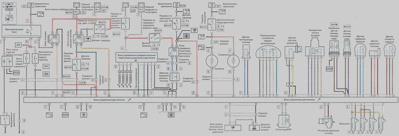 156 JTD 1.9 Engine Power System Wiring Diagram