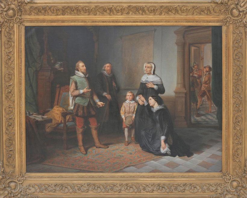 te_koop_aangeboden_een_schilderij_van_de_nederlandse_kunstschilder_pieter_alardus_haaxman_1814-1887_hollandse_romantiek