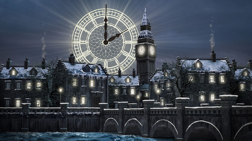 """London Nacht - mit """"Glockenschlag"""" für Geist der Gegenwart"""