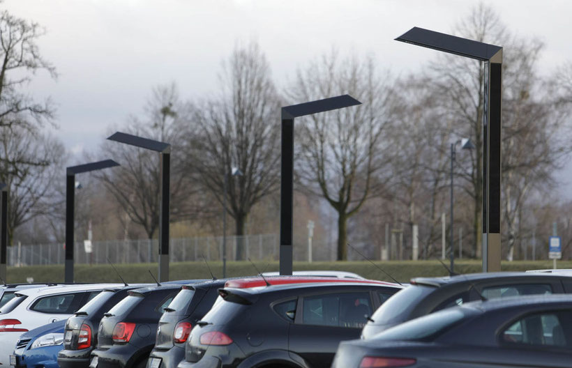 strassenbeleuchtung solar