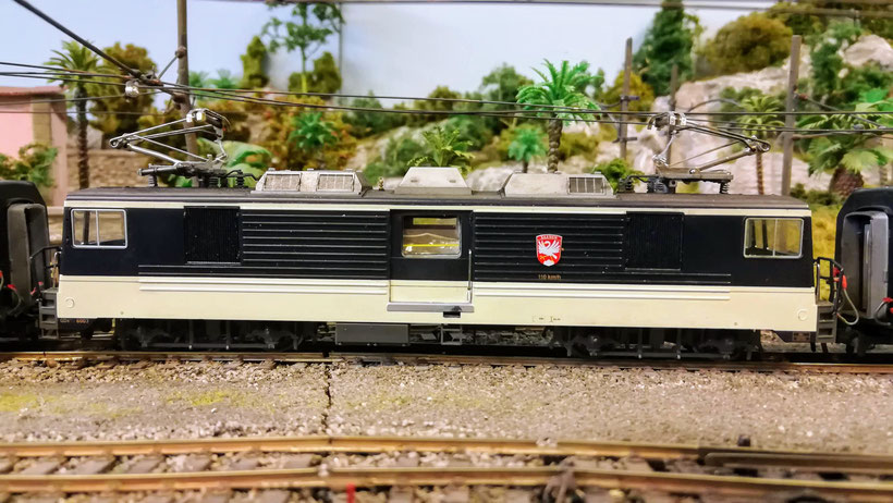 GDe 4/4 6003 Crystal Panoramic MOB GDe 6003 Bemo modellbahn modellayout H0m