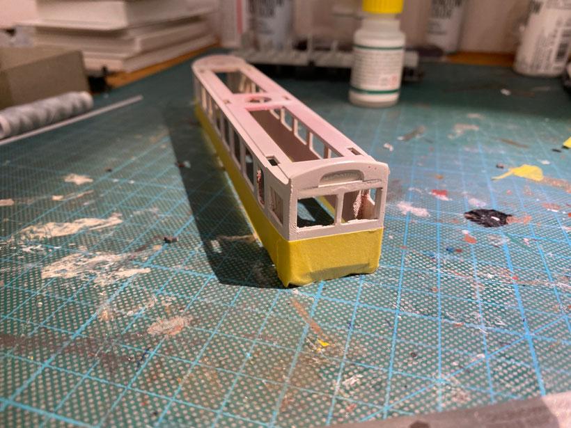 Bemo Steuerwagen, Steuerwagen selber bauen, H0m, Modellbahn Schmalspurbahn centovallibahn, modell, modellayout modelrailway, bemomodellbahn, bemo-modellbahn, pendelzu, pendelzugskomposition