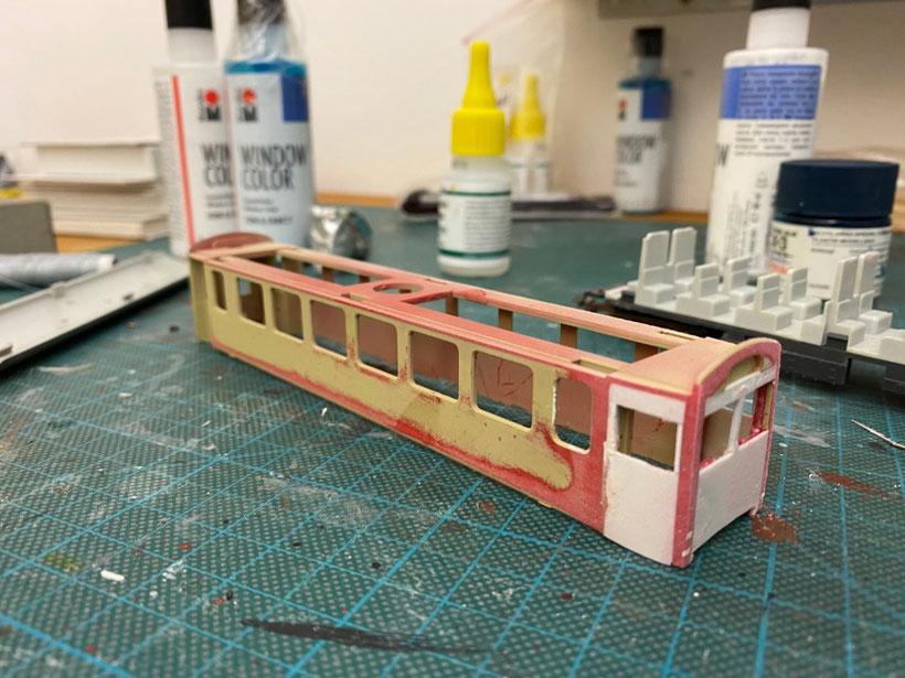 Bemo Steuerwagen, Steuerwagen selber bauen, H0m, Modellbahn Schmalspurbahn centovallibahn, modell, modellayout modelrailway, bemomodellbahn, bemo-modellbahn