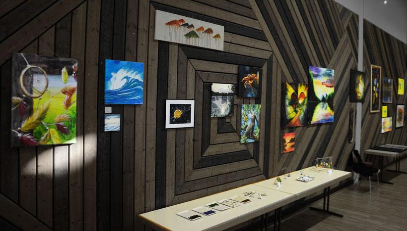 2015 - Kunst-Ausstellung: Peter-Giesen-Halle in Neu-Garzweiler