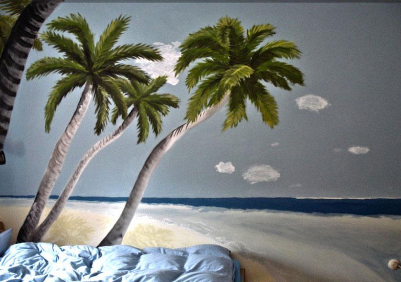 Andys Zimmerwand - Wandfarbe