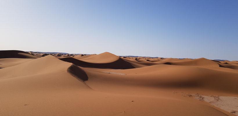 L'eau au Maroc et dans le désert M'hamid el Ghizlane