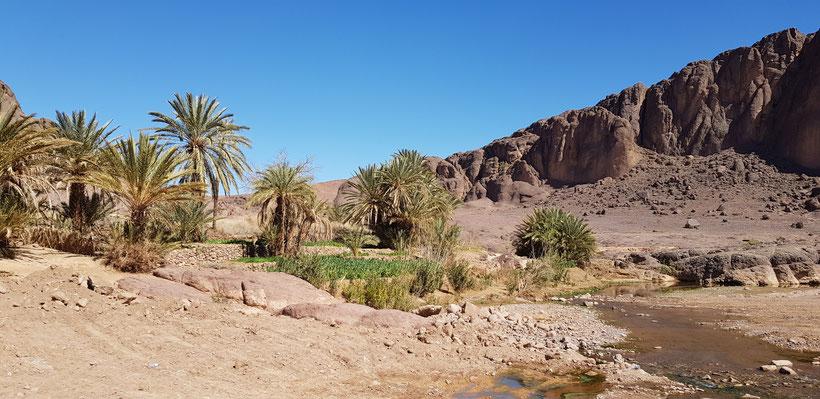 L'eau au Maroc vallée du Draa désert
