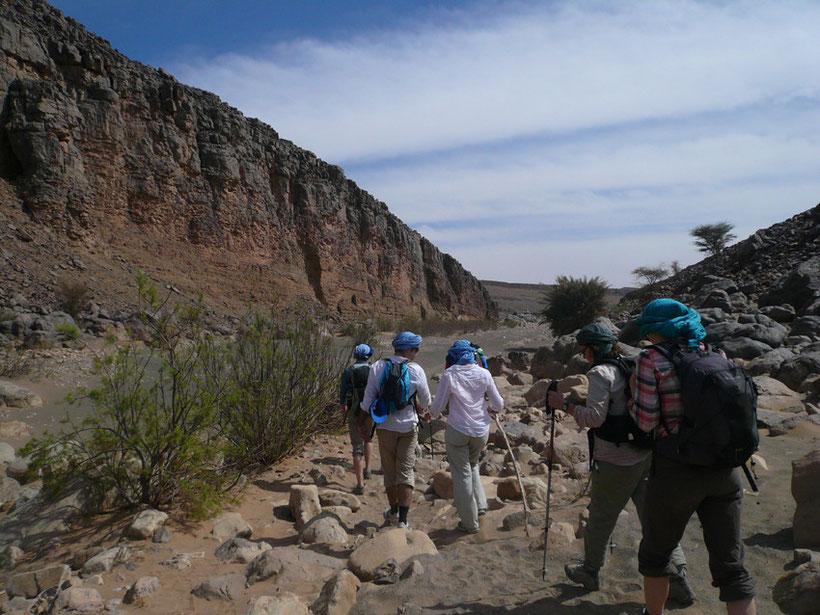 L'esprit trekking désert Maroc