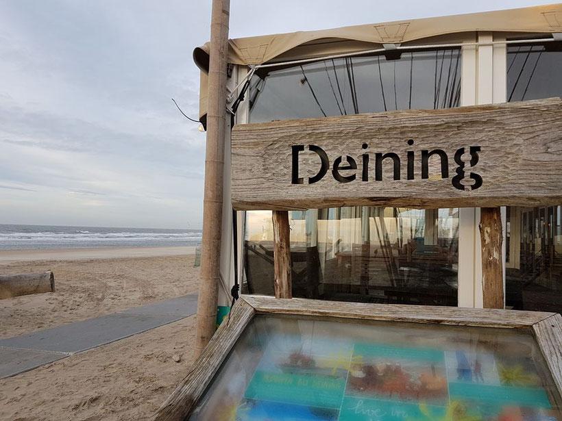 Trouwlocatie op het strand van Castricum, De Deining