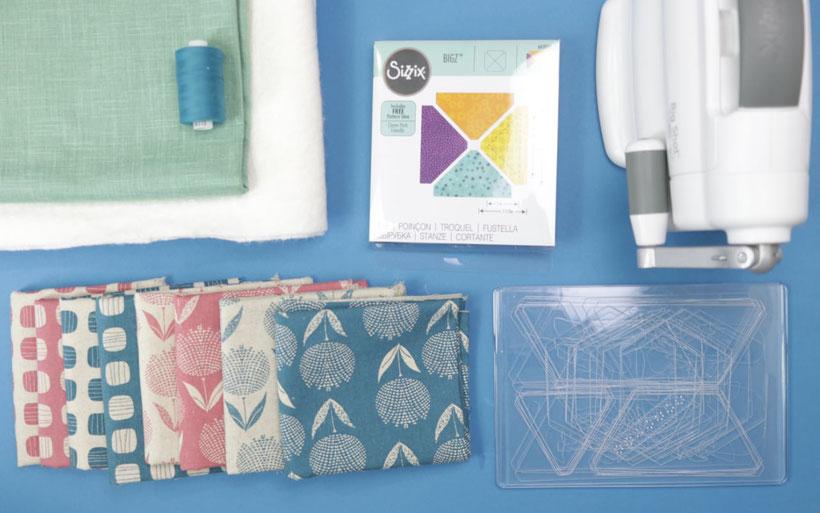 Patchwork Krabbeldecke mit Dreiecken nähen / Babyquilt mit der Big Shot DIY Eule