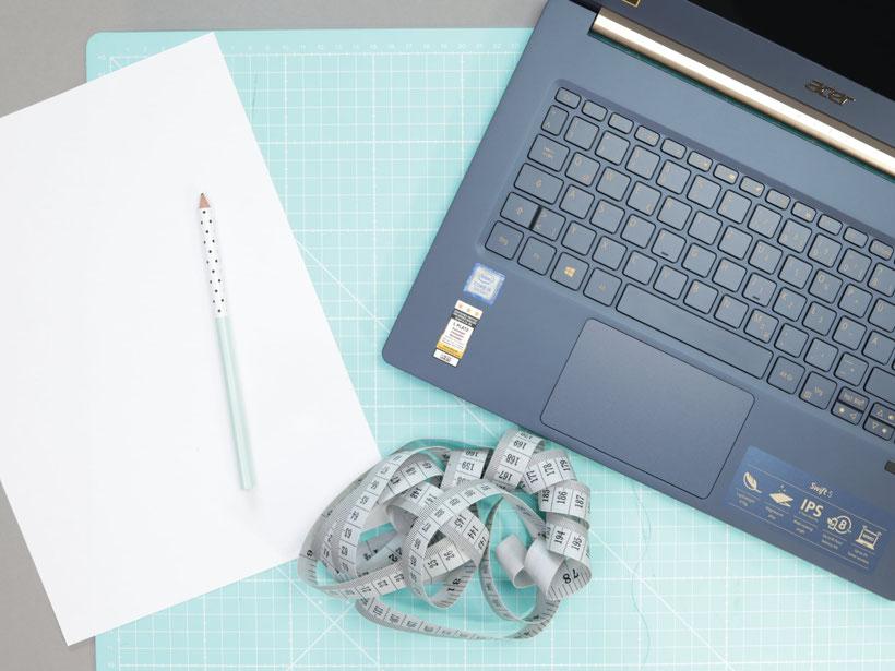 Passgenaue Laptoptasche nähen - DIY Eule