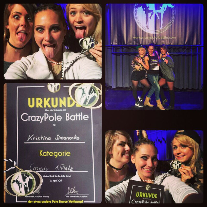 1 Platz bei Crazy Pole battle in comedy 😵