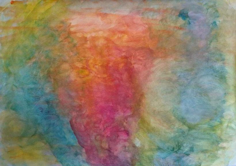 Arbeit aus der Kunstherapie