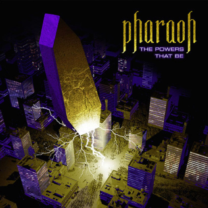 "PHARAOH - ""The Powers That Be""-Cower-Artwork"