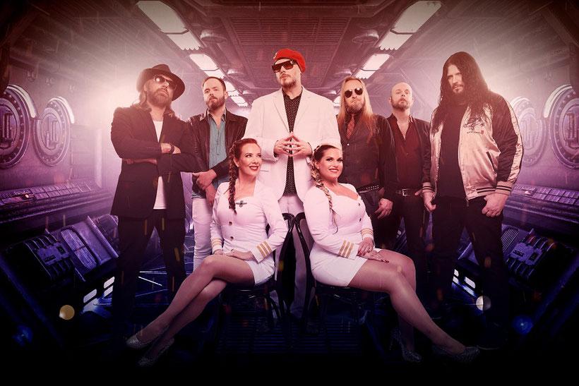 THE NIGHT FLIGHT ORCHESTRA - neues Album wird mit ABBA-Instrumenten eingespielt