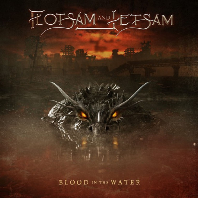 "FLOTSAM AND JETSAM - ""Blood In The Water""-Album-Artwork"