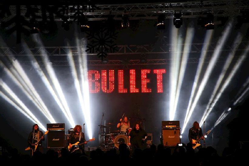 Bullet Band live Pic
