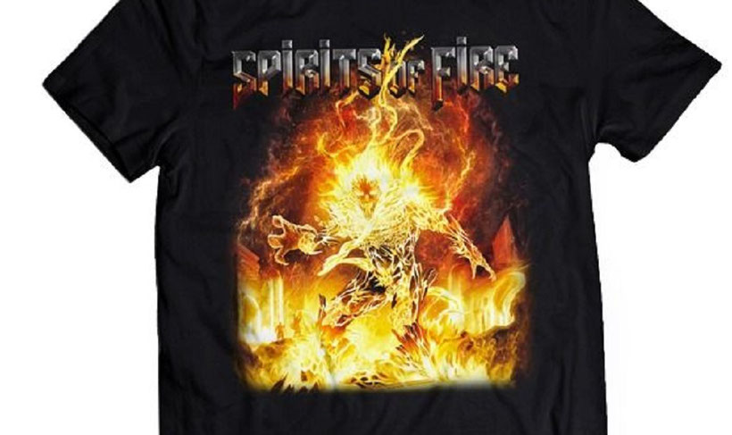 Spirits Of Fire Band T-Shirt