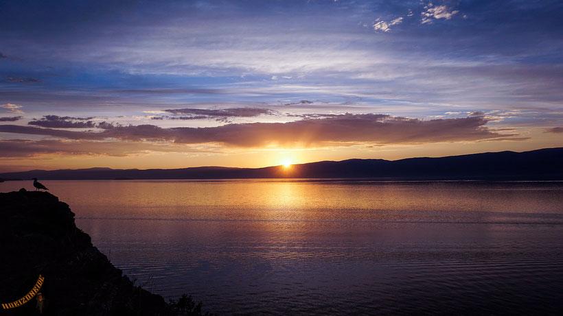Baikal. Wir haben uns direkt nach der Ankunft in diesen in jeder Hinsicht epischen See verliebt.