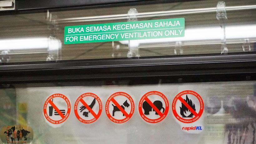 Küssen verboten! Das ist nämlich unislamisch!