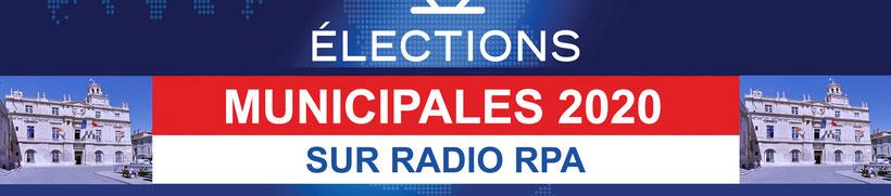 Elections municipales Arles 2020 sur Radio RPA