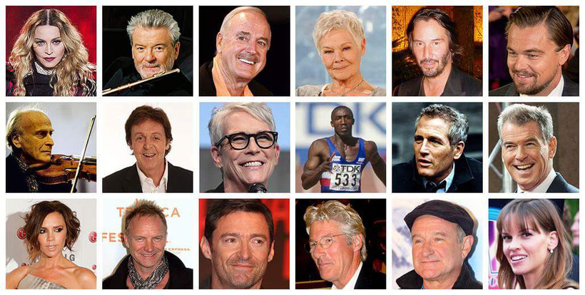 Celebrities who have benefited from the Alexander Technique