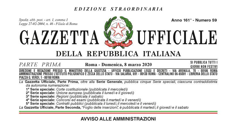 Decreto Covid-19 Rovigo