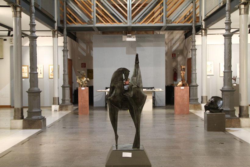 Lo scultore Claudio Nicoli in mostra a Rovigo