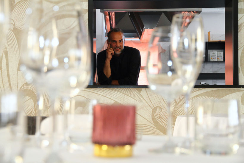 Andrea Focarini Chef - ph. Loris Slaviero