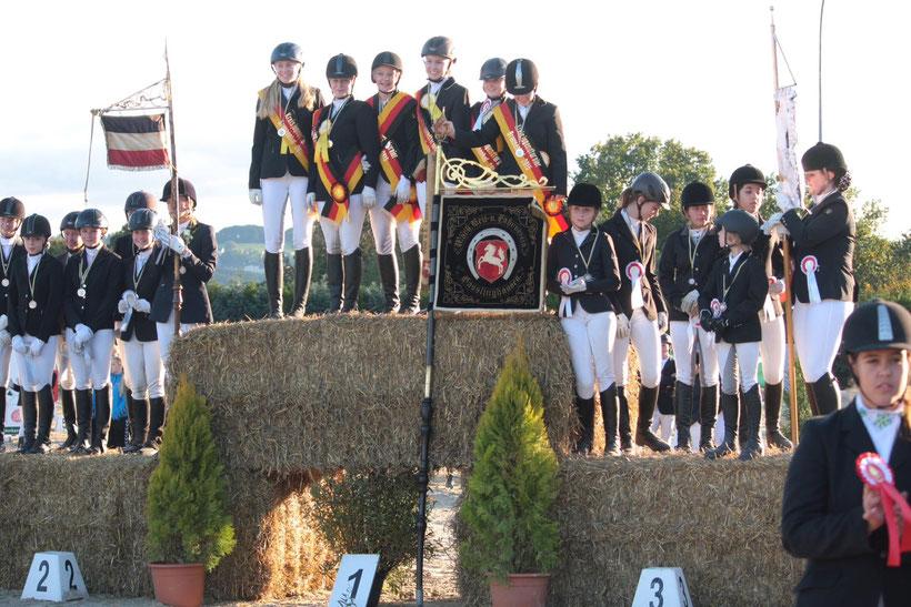 Plätze 1 - 3 In der Klasse E. 3. Platz Brunnenhof  2.Platz Volmarstein und 1. Platz Haßlinghausen
