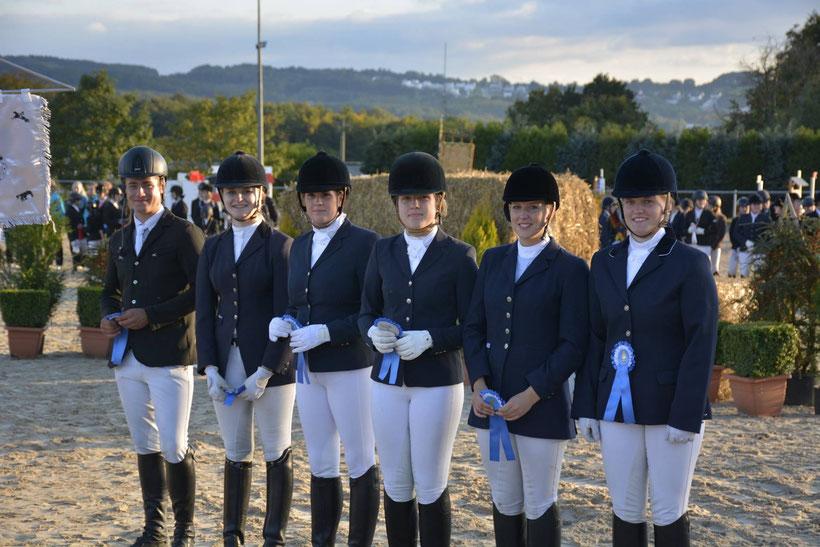 Mit einer wirklich guten Leistung Platz 4, (Niclas Mathes, Luciana Hagedorn, Sophie Benda, Kim Dunker, Denise Zych und Johanna Wiethoff)