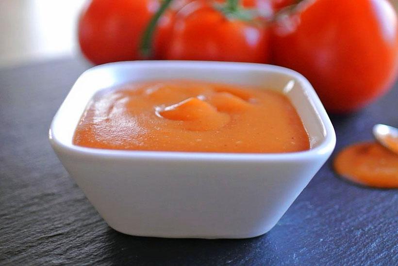 Ketchup aus frischen Tomaten - auch für Thermomix