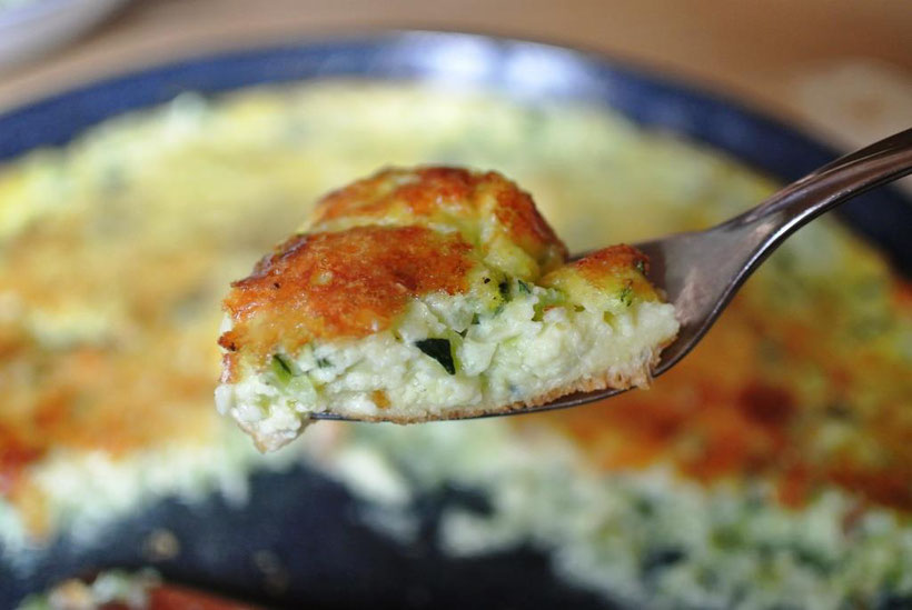 Omelett aus dem ofen