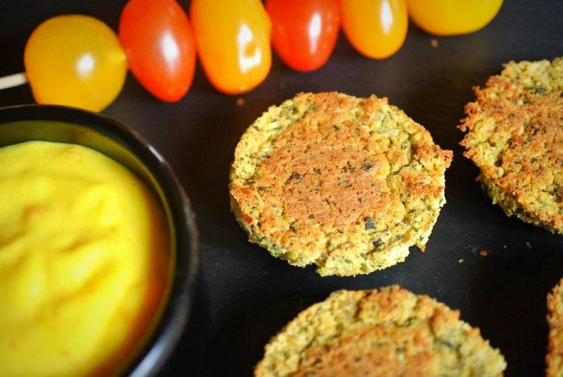 Falafel ohne Ausbacken - aus dem Ofen