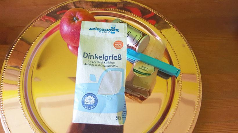 Produktbild Dinkelgrieß für Dinkel-Koch- und Dinkel-Backrezepte aus dem eBook/Buch: Dinkel-Dreams von K.D. Michaelis