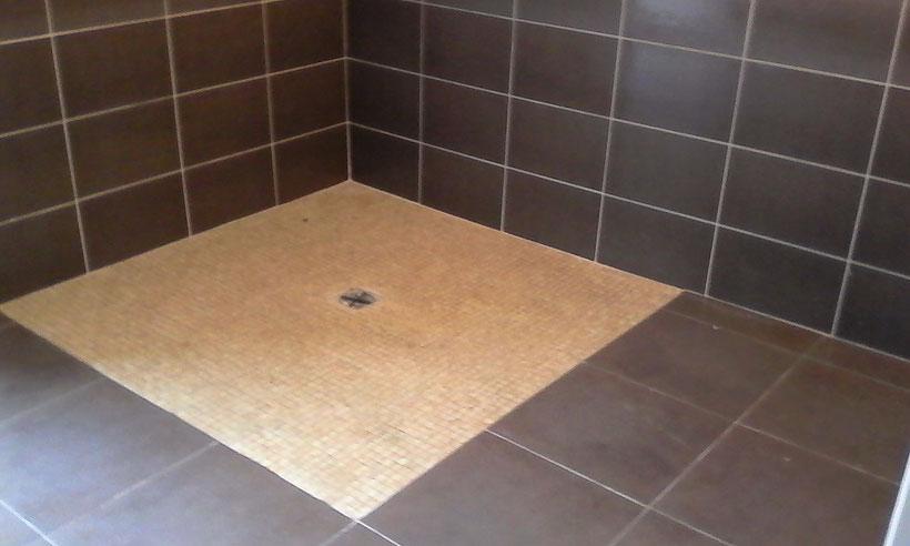 Mosaïque pour salle de bains