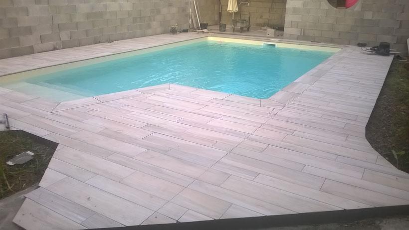 carrelage plage piscine