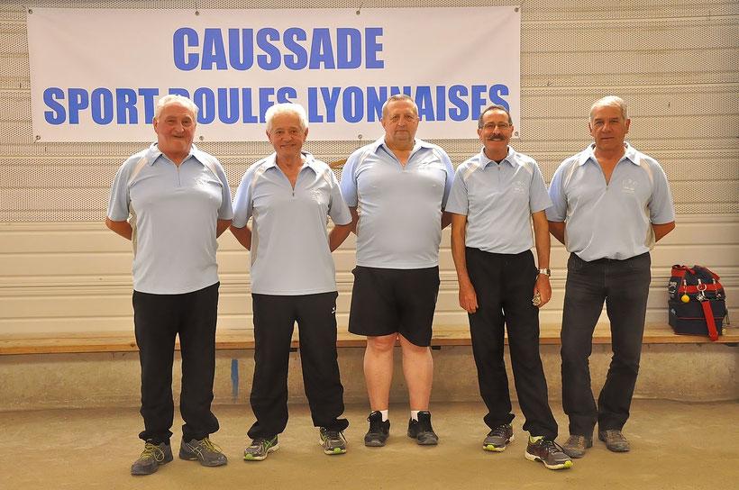 Les vainqueurs vétérans (photo CBD)