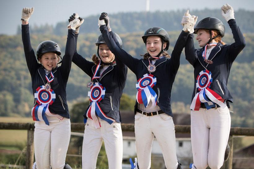Herzlichen Glückwunsch an unser Team zum 3. Platz bei den Mannschafts-Kreismeisterschaften E-Springen