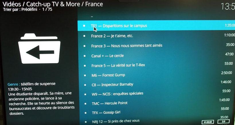 LibreELEC Kodi addon catch-up tv & more